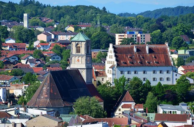 Wasserburg am Inn - Town View