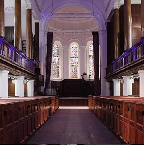 Triskel Cork inside the Church