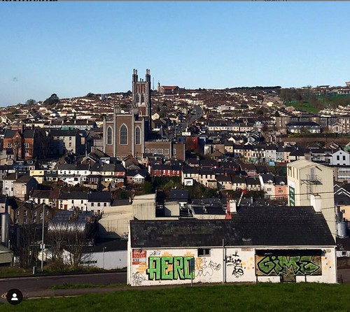 Georgina Ingham | Culinary Travels - A Guide to Cork City. Karen Cronin's photograph of the Northside view over the City.  Like duvets dipped into wells - The Glorious Heresies