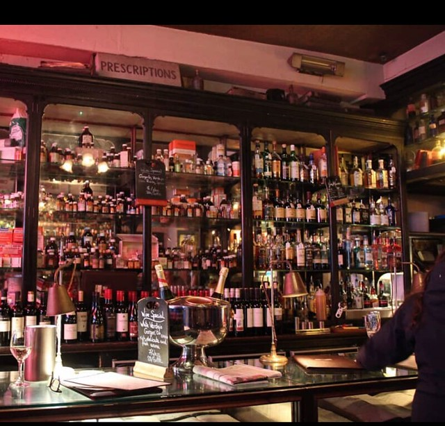 Georgina Ingham | Culinary Travels - A Guide to Cork Ireland. Arthur Maynes, A Herritage Pub with a history as an old Pharmacy with lots of quirky apothacry kept on display behind the counters. A dark and moody pubt that has a great, welcoming and friendly vibe. My 'local' in Cork