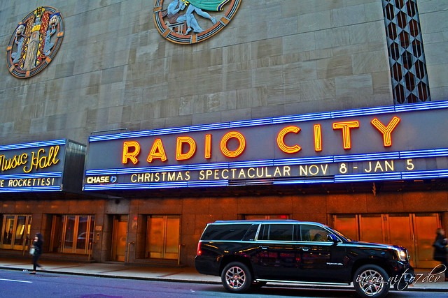 Radio City Music Hall 50th St Rockefeller Center RCMH 6th Ave Avenue of the Americas Midtown Manhattan New York City NY P00560 DSC_1694