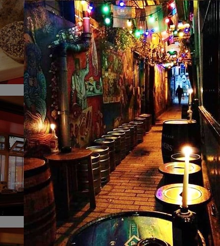 Georgina Ingham | Culinary Travels a Guide to Cork, Ireland - Mutton Lane a tiny pub almost hidden down a small laneway, pop in for a pint and some great craic