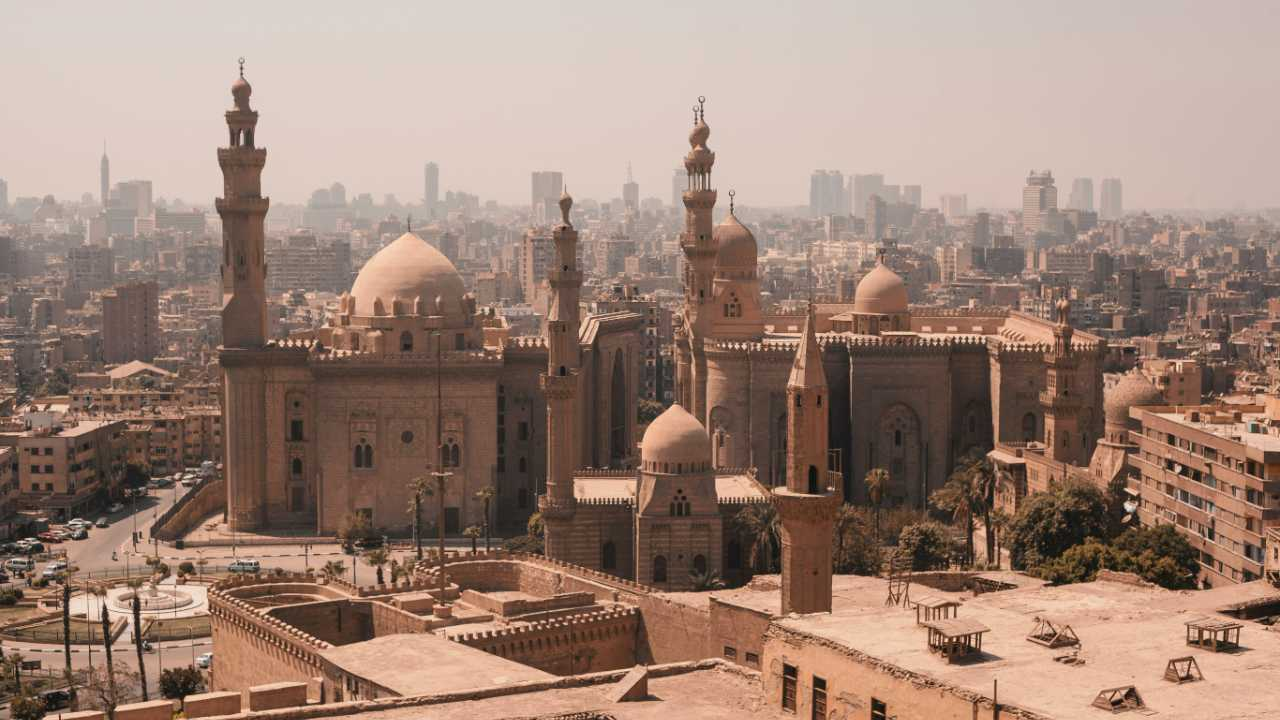 A cityscape of Cairo, Egypt