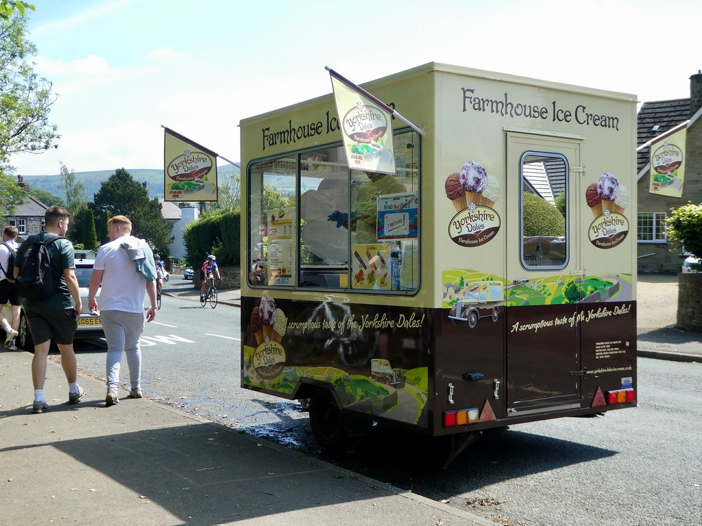 Farmhouse Ice Cream Van, Addingham