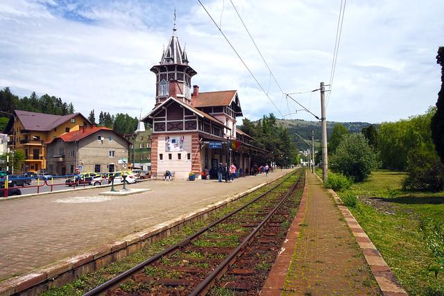 Vatra Dornei Railway Station