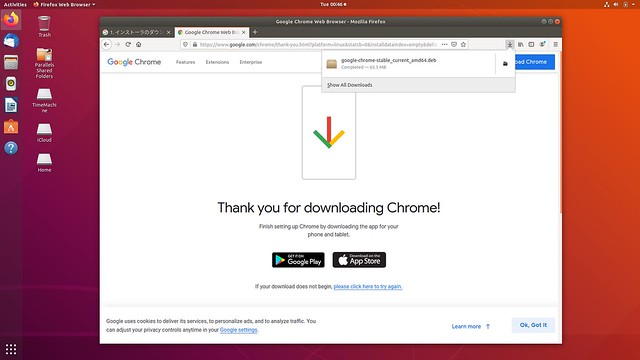 install Chrome into Ubuntu18.04
