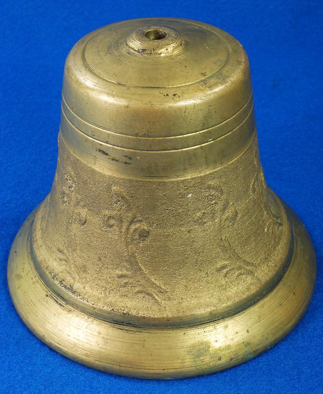 RD28133 Vintage Brass Bell Housing 5 inch Diameter DSC08038
