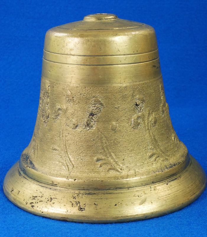RD28133 Vintage Brass Bell Housing 5 inch Diameter DSC08035