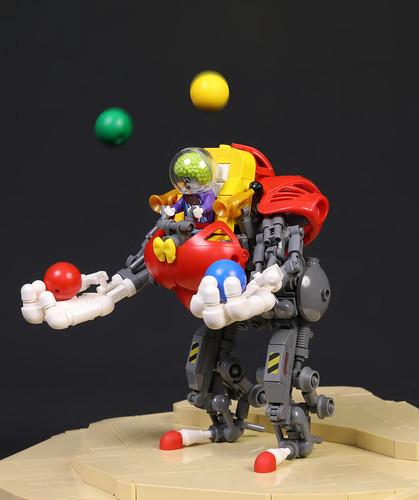 Spaceclowns: Jugglebot