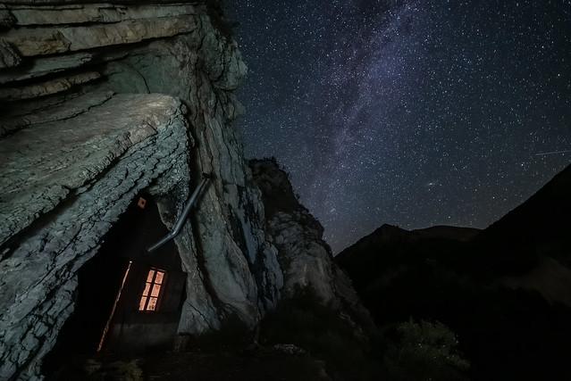 Refuge de Boules et Andromède