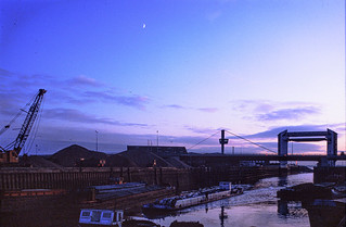 The Old Harbour, River Hull, evening. 83-01-Hull-077_2400