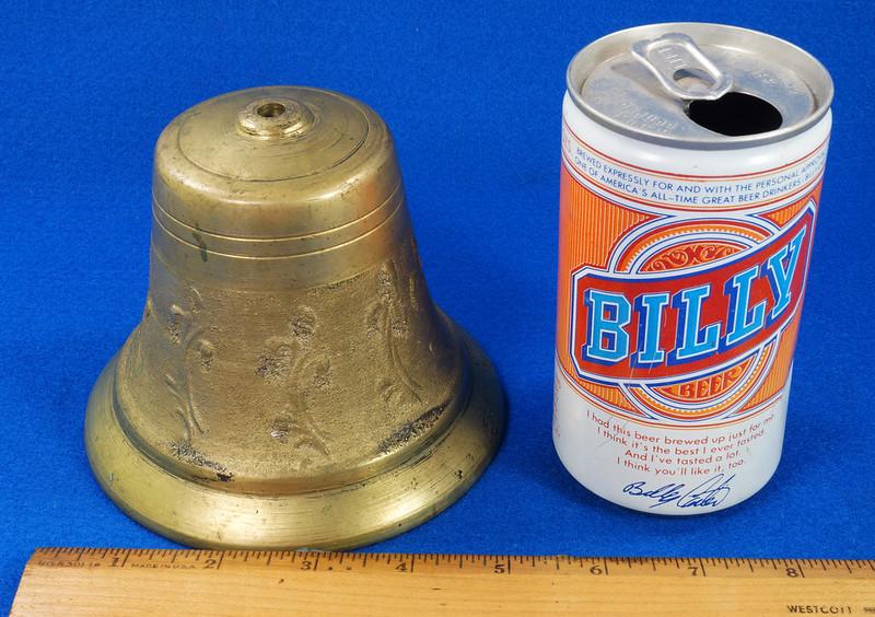 RD28133 Vintage Brass Bell Housing 5 inch Diameter DSC08030