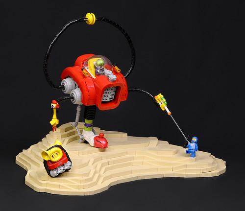 Space Clowns: Monopod Mech