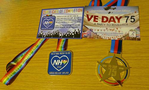 Walking Challenge Medals