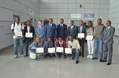 Départ de la délégation Congolaise pour la chine, en formation à l'Université Huawei