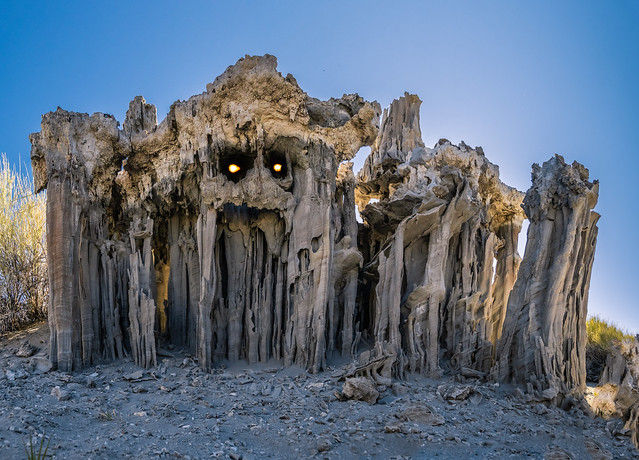 The Sand Tufa Monster of Mōnō Lake