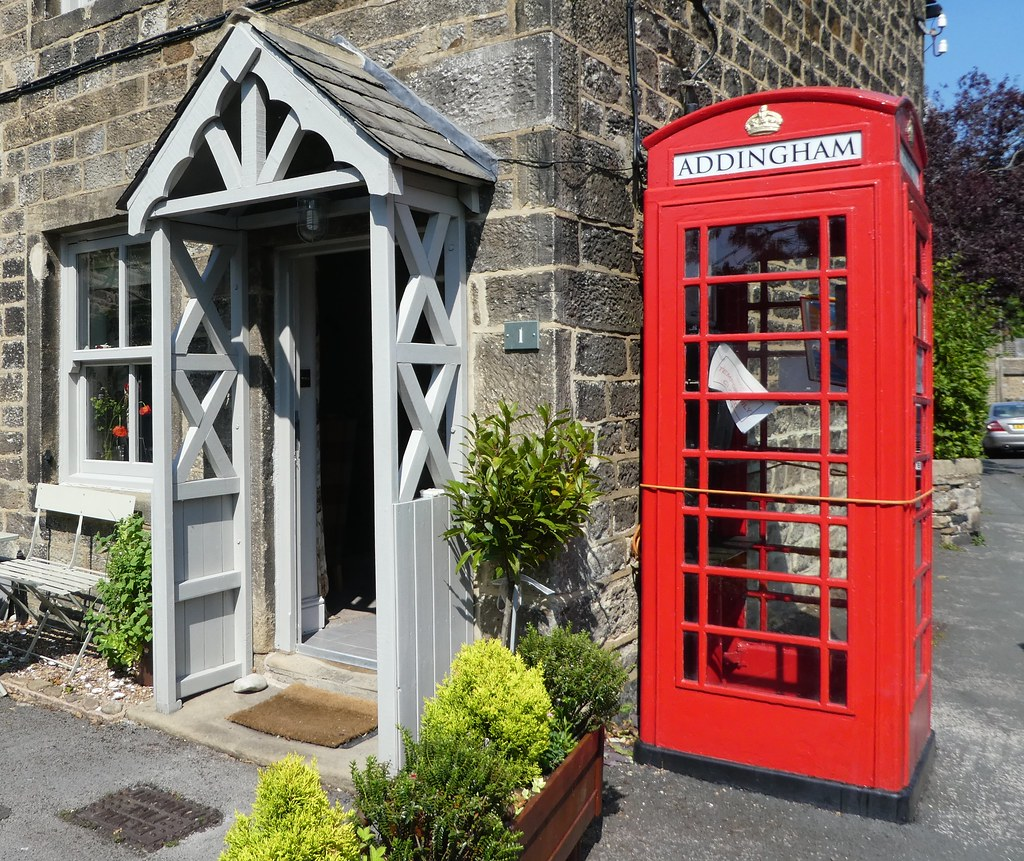 Addingham Information Point Telephone Kiosk