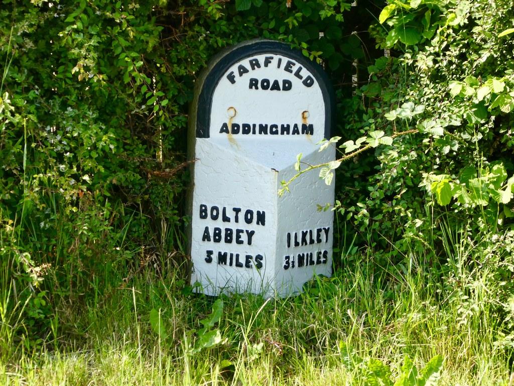 Milestone marker, Addingham