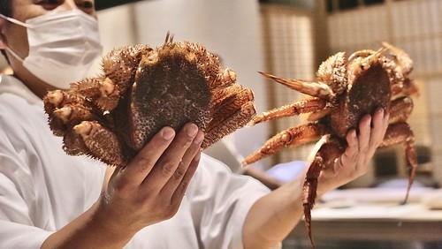 銀座 結絆09 Horsehair crab
