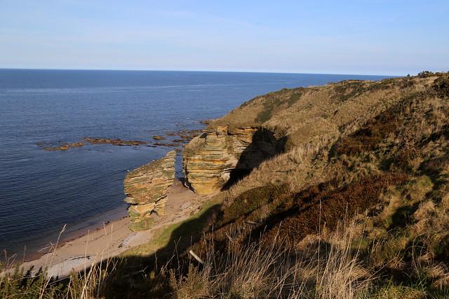 The coast near Covesea