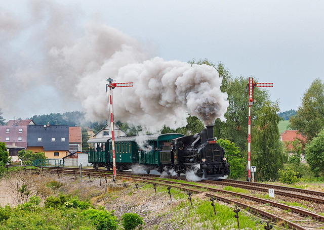 Parní lokomotiva 414 096