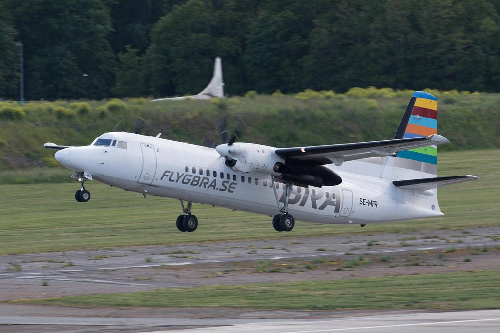 Amapola Flyg Fokker F50 SE-MFR 200616 BMA