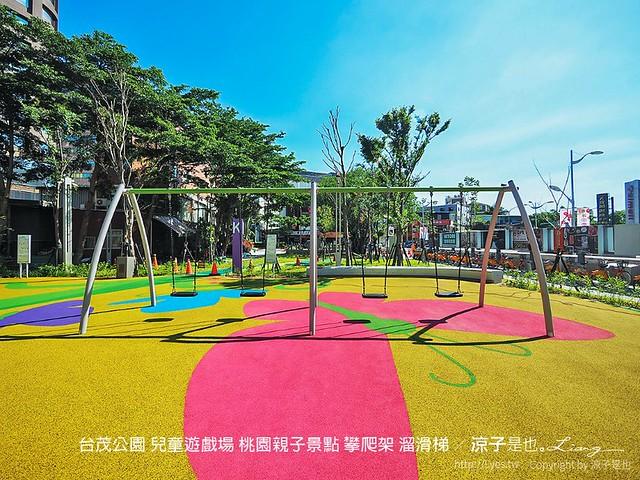 台茂公園 兒童遊戲場 桃園親子景點 攀爬架 溜滑梯