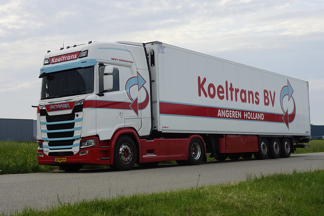 Scania S 450 Next Generation Koeltrans met kenteken 67-BPH-4 in Bemmel 15-06-2020