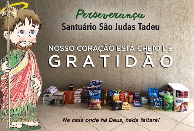 Ação Solidária - Santuário São Judas Tadeu
