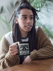 Symbol Akofena Black Coffee Mug