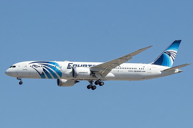 SU-GEU   Egyptair   Boeing B787-9 Dreamliner   CN 38802   Built 2019   MAD/LEMD 26/09/2019