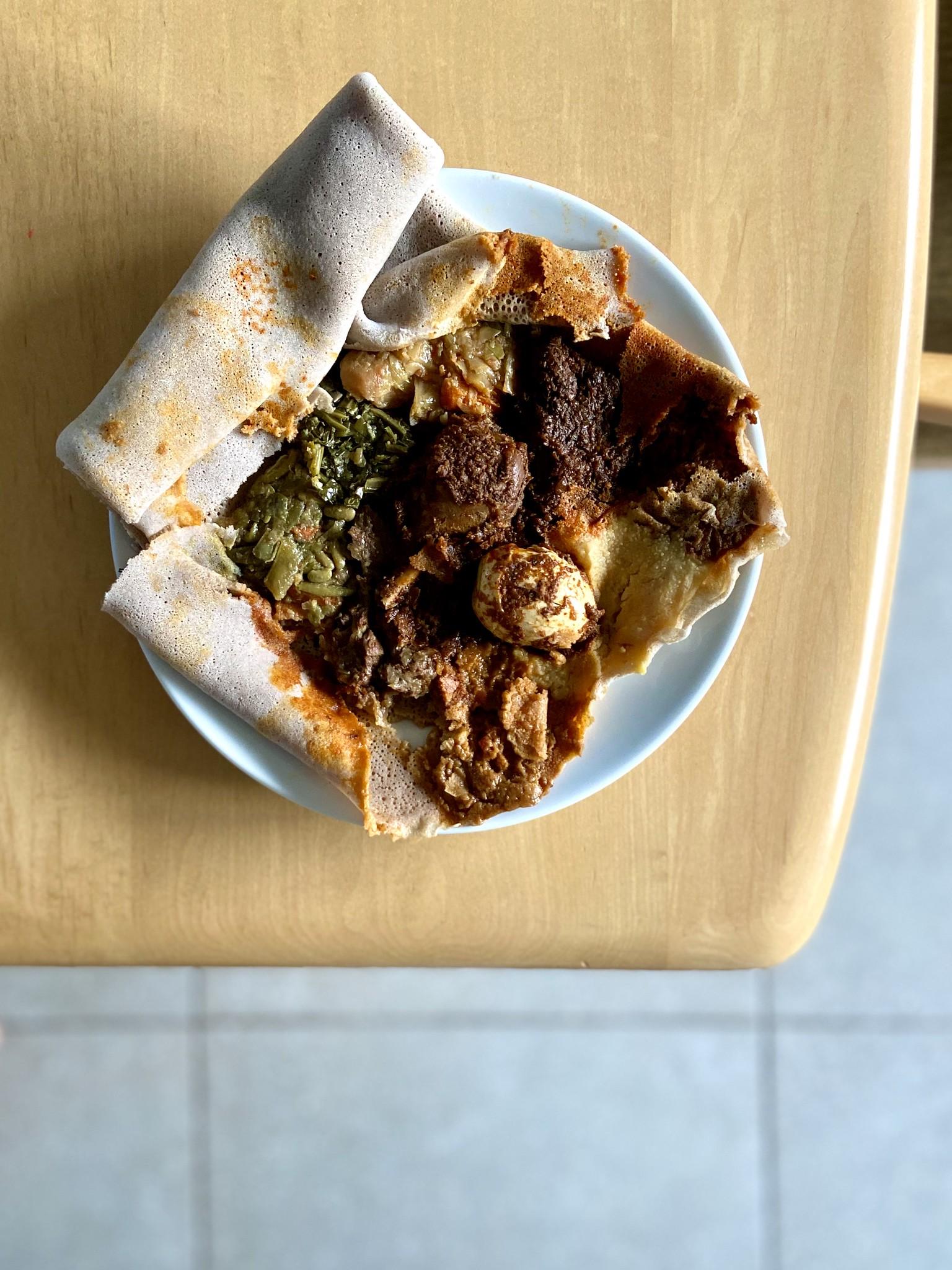 Awash Sampler - Awash Ethiopian Restaurant