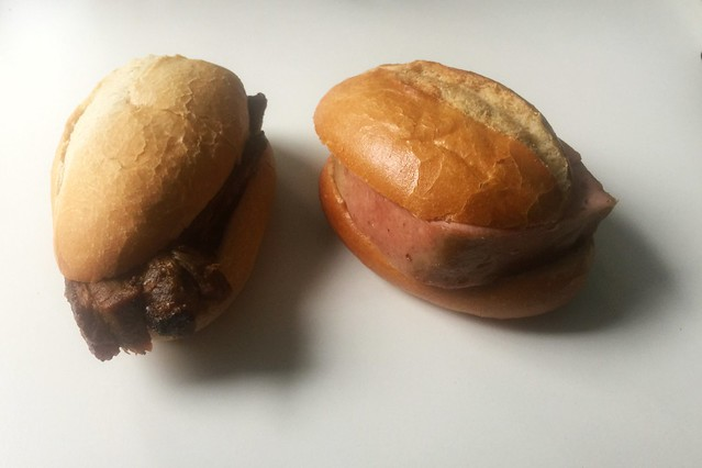 Pork roast & meatloaf / Schweinebraten & Leberkäse