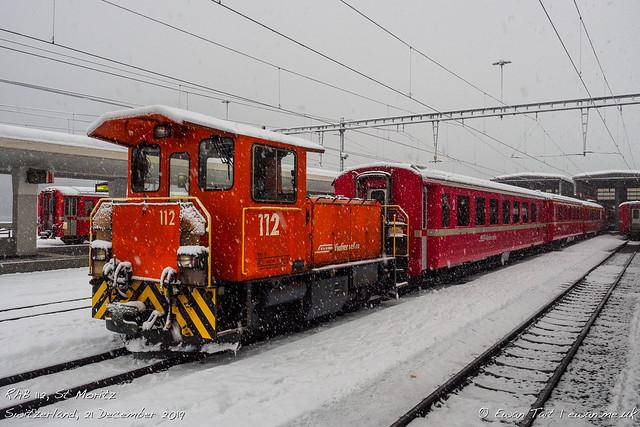 RhB 112, St Moritz