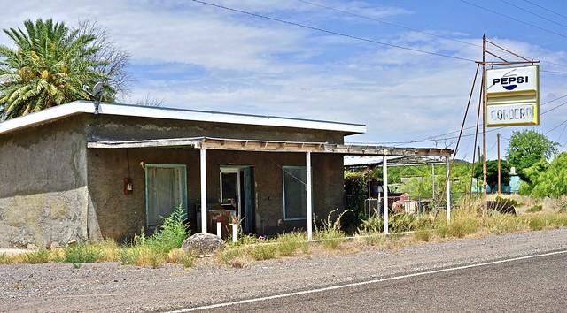 Abandoned Cordero Cafe - Redford, Texas