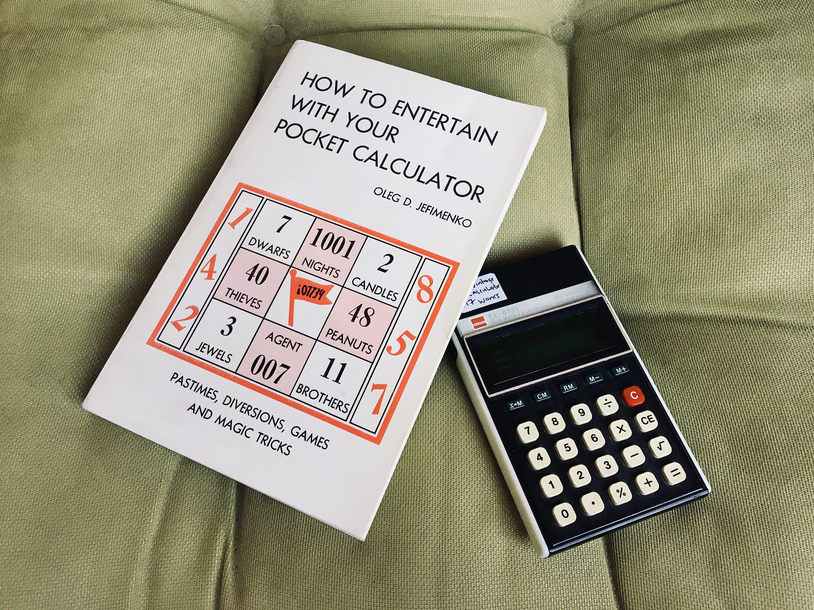 How to Entertain With Your Pocket Calculator