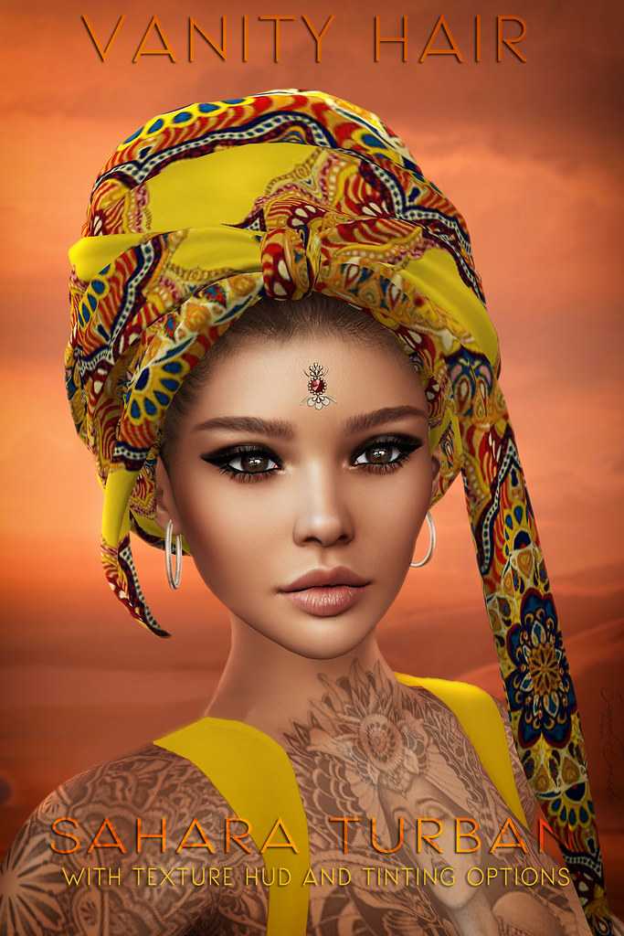 Vanity Hair:Sahara Turban