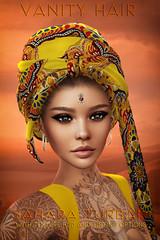 Vanity Hair:Sahara Turban