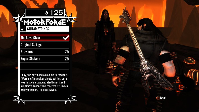 Brutal Legend - Upgrades
