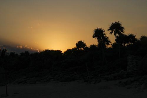 Sunrise, Valentin Imperial Riviera Maya, Mexico