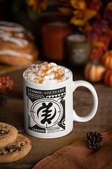 Symbol Akofena White Coffee Mug