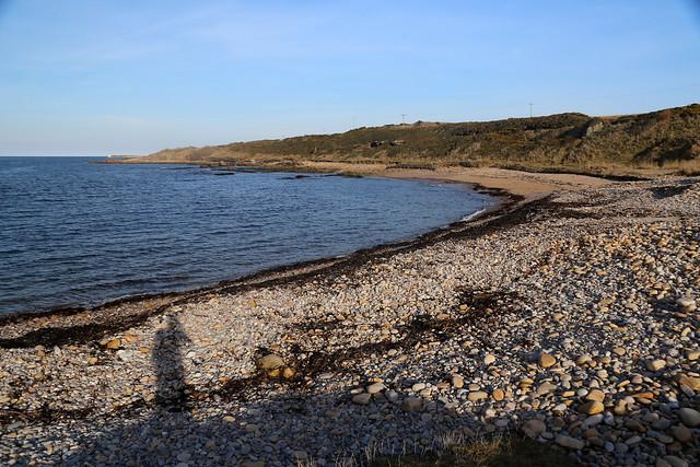 The coast between Burghead and Hopeman