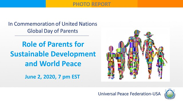 USA-2020-06-02-UN Global Day of Parents Upheld in UPF's Webinar on the Role of Parents