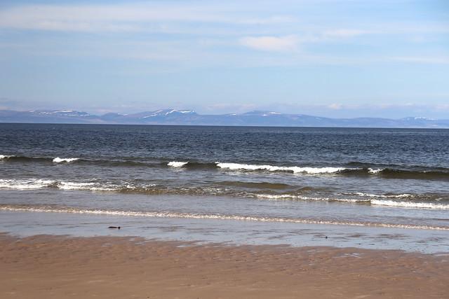 The beach at Covesea