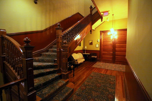 The Fitzpatrick Hotel (Maybe haunted) Staircase - Washington, GA