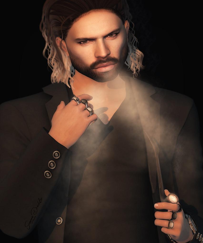 Andrew smoking