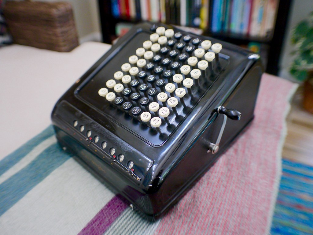 Burroughs Key-Operated Comptometer