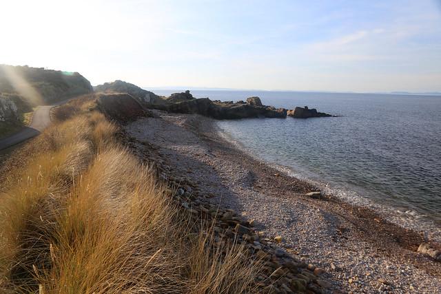 The coast near Burghead