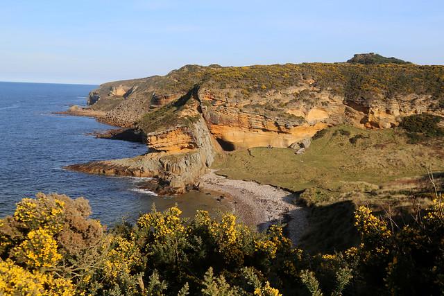 The coast east of Hopeman
