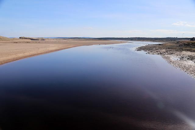 The River Lossie, Lossiemouth